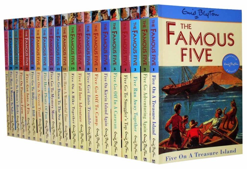 Enid-Blyton-Books-FAMOUS-FIVE-Series-21-Books-Collection-Box-Set-Books